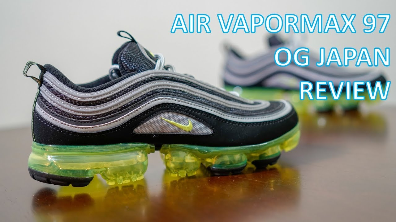 check out c2b39 4e72a REVIEW   ON-FEET - Air Vapormax 97 OG Japan