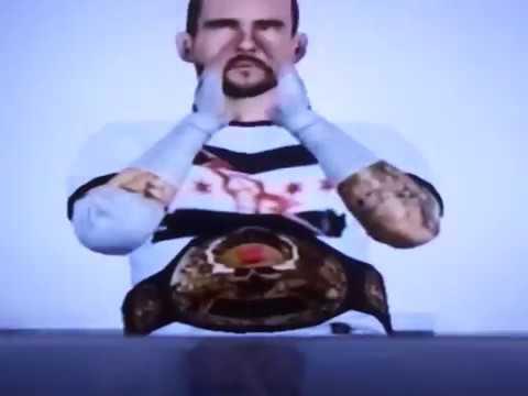 JWF RAW CM Punk's Smoking Skull World Title 6 Pack Challenge Match 6 6 17