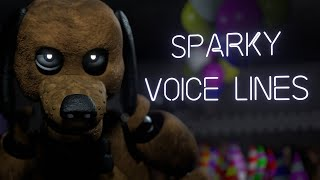 Sparky the Dog FNAF Voice Lines Animated