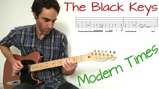 The Black Keys - Modern Times - Guitar lesson / tutorial / cover with tab