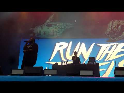 Run the Jewels live at Electric Picnic sep 02 2017.