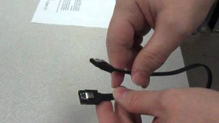 Best New Serial ATA SATA Cable in the WORLD from Lyjotek