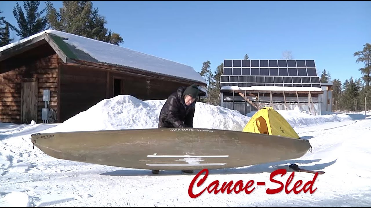 Canoe-Sled: Northwestern Ontario 2016 Solo Expedition