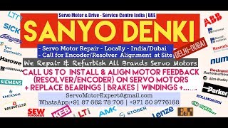 Sanyo Denki Dubai  Servo Motor Encoder Resolver Heidenhain Repair UAE Kuwait Bahrain Oman Saudi KSA