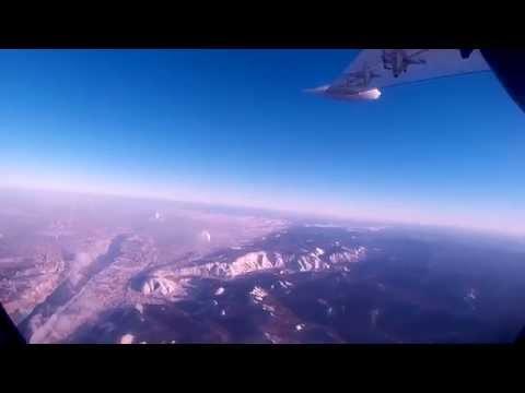 Рейс Красноярск-Кызыл авиакомпании КрасАвиа на самолёте Let L-410