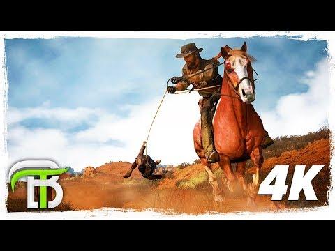 RED DEAD REDEMPTION 4k GAMEPLAY WALKTHROUGH #6 - TREASURE HUNTING