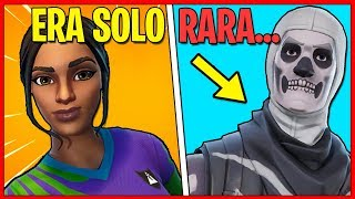 The 10 SKINs - RARE - BUT BRUTTISSIMES THAT ALL wanted on Fortnite!! You have at least one?! **