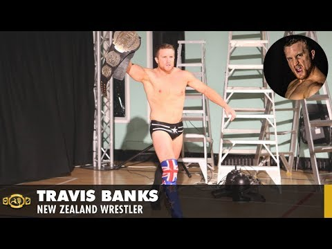 Wrestling Interview - Travis Banks (NZ Wrestler)