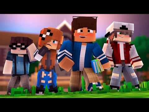The Strangers | Pleasant Valley High S1 Ep.1 | Minecraft Roleplay