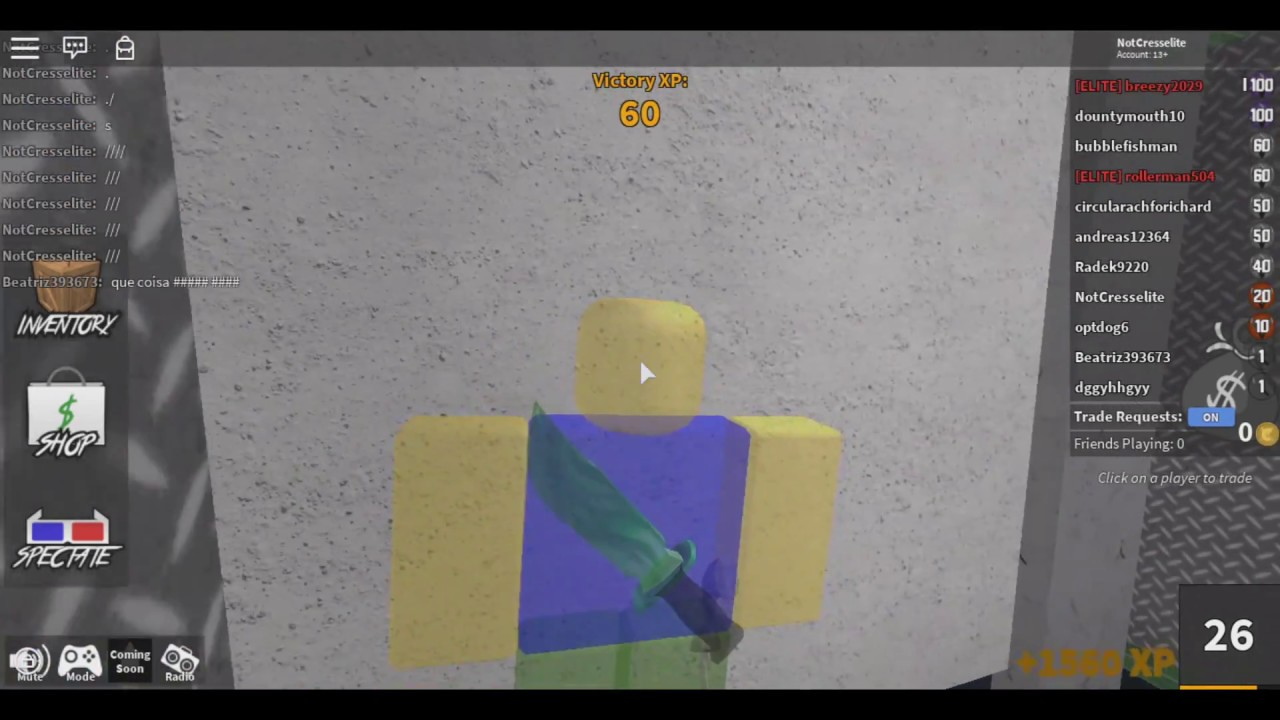 Roblox Murder Mystery 2 Mm2 All Glitches Youtube