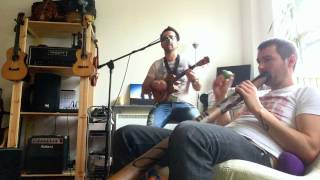 Huckleberry Jam - The Irish Rover (rehearsal)