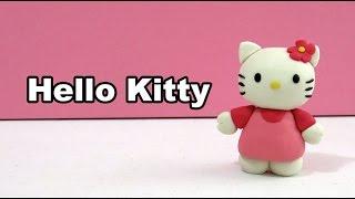 How to make Hello Kitty with plasticine / Hello Kitty en plastilina