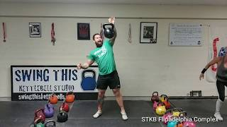 "Super Tough Kettlebell Complex ""Flipadelphia"" ADVANCED LEVEL"