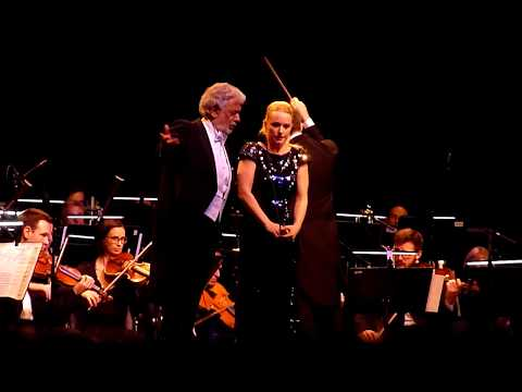 Placido Domingo & Sabina Cvilak - La ci darem la mano, live in Ljubljana 2018