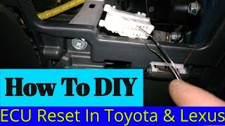 How To Reprogram an ECU - Immobilizer In A Toyota or Lexus