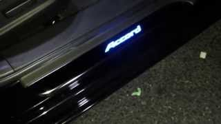 2013 honda accord illuminated door sills(Honda dealership wanted to charge me 225 dollars for installation. no way!!!! i did my self - ExLED kit from www.exledusa.com - PDF file step by step procedure ..., 2013-05-20T02:33:45.000Z)