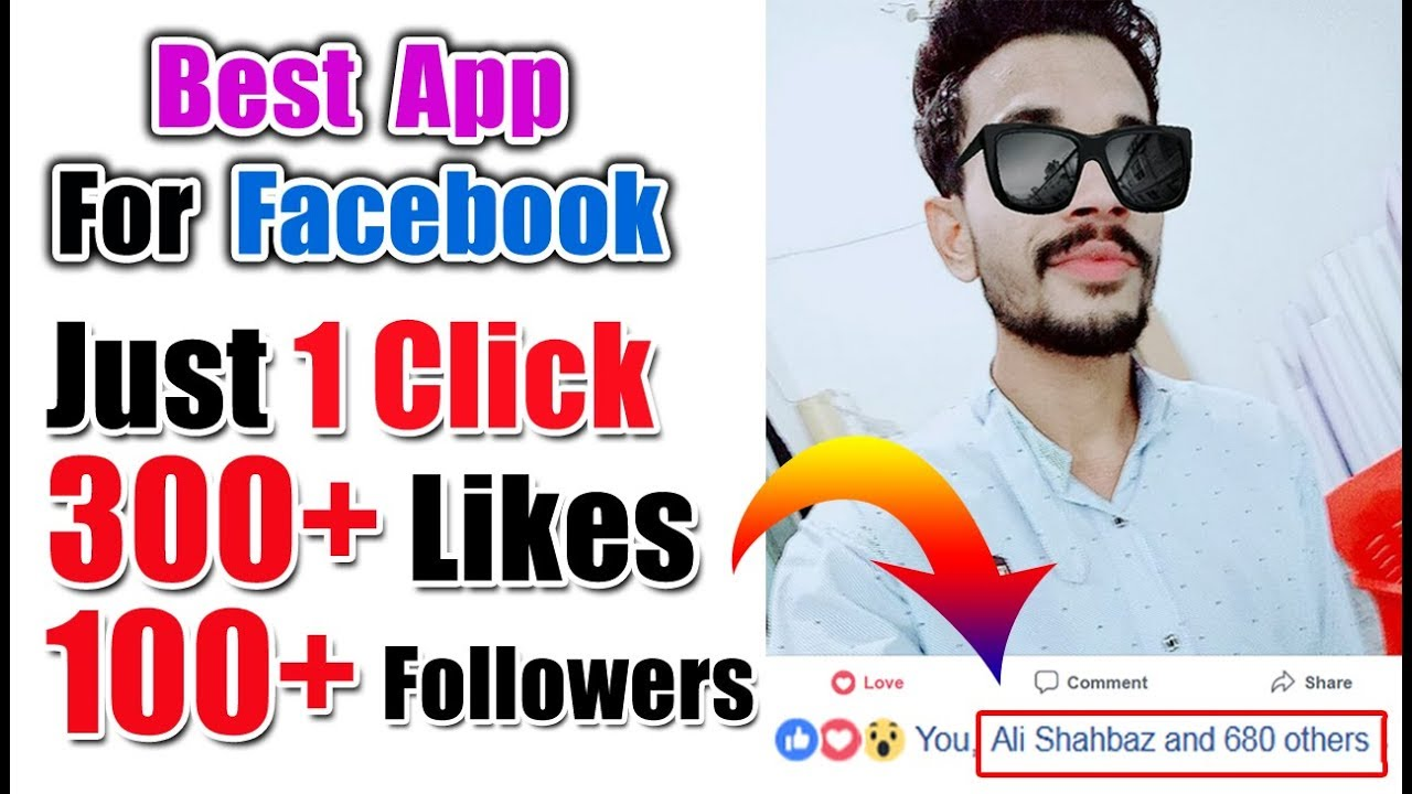 Best Facebook Auto Liker and Facebook Auto Followers App 2018 || 1 Click  300+ likes and 100+ followr