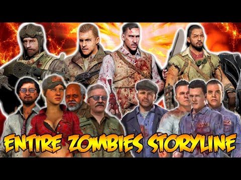 ZOMBIE CHRONICLES DLC 5 - FULL ZOMBIES STORYLINE EXPLAINED - CALL OF DUTY BLACK OPS 3 ZOMBIES
