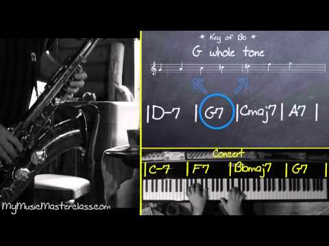 Doug Webb - Harmonic Improvisation Saxophone Masterclass 1