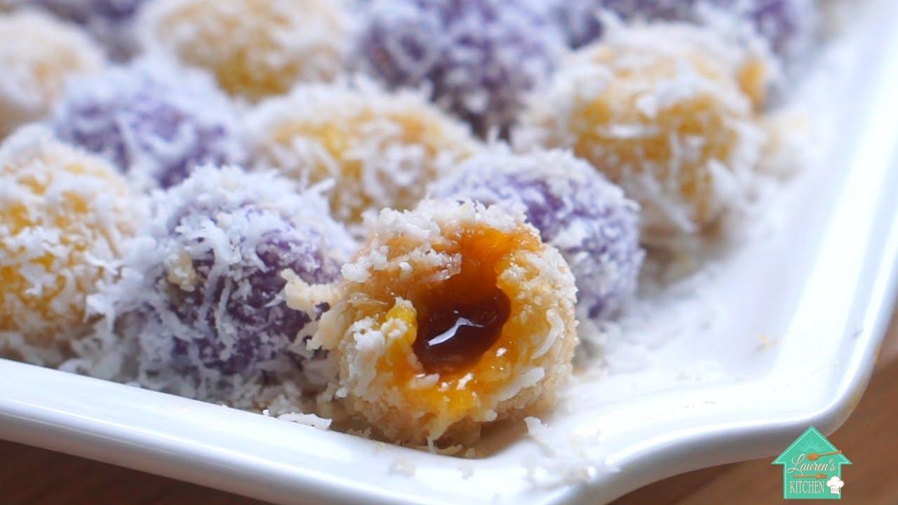 如何制作紫薯與南瓜椰糖粒! - YouTube