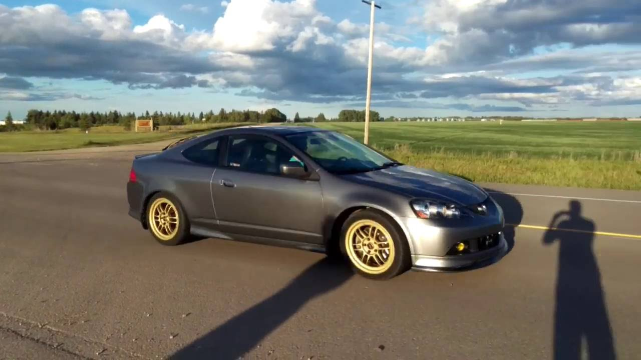 RSX Type S Exhaust Invidia N And Race Header YouTube - Acura rsx type s headers