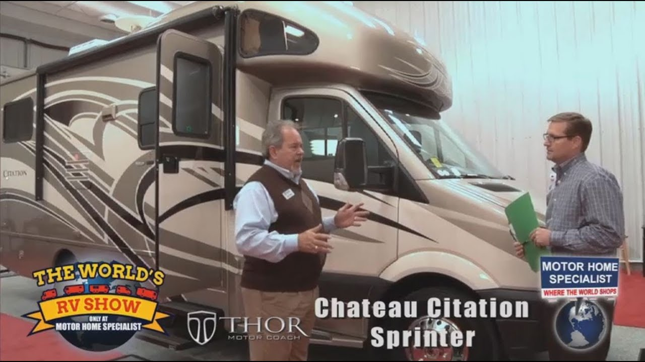 Motor home specialist review of thor chateau sprinter for Motor home specialist reviews