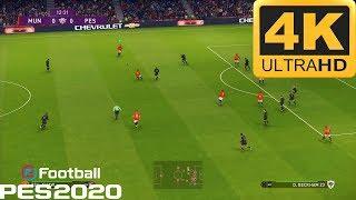 PES 2020 - 4K GAMEPLAY ( PS4 Pro )