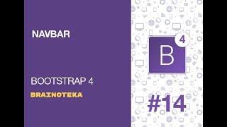 Bootstrap 4. Урок 14. NavBar