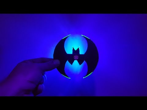 Home Made Fidget  Spinner Without Bearing Batman