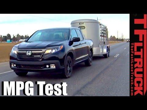 2017 Honda Ridgeline Highway Towing MPG Review: How Fuel Efficient?