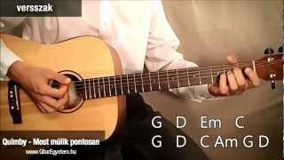 Quimby - Most múlik pontosan gitáron - www.GitarEgyetem.hu