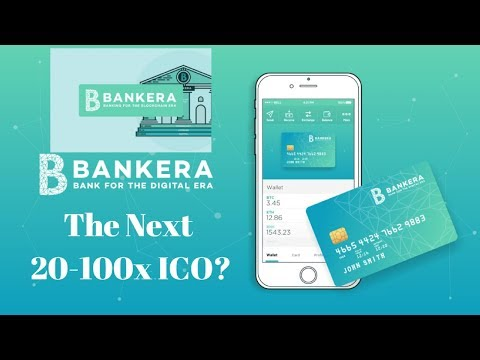 Bankera (ICO) Banking for the Blockchain. The next 20-100x ICO?