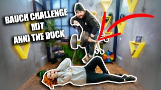 BAUCH FALL CHALLENGE mit @Anni The Duck