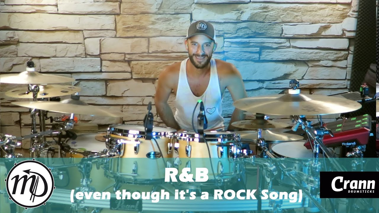 R&B - Mike Michalkow - Drum Cover Drumeo (Rock) PEARL Maple Gum