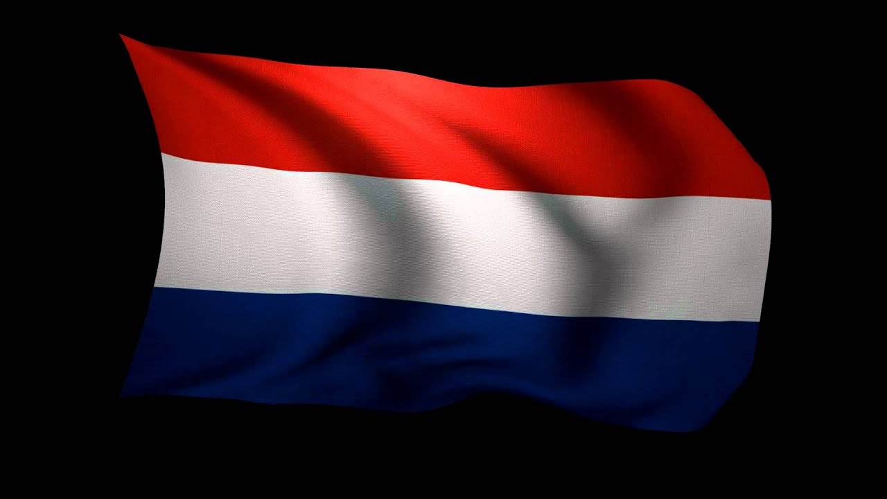 3d rendering of the flag of the netherlands waving in the wind