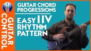 I IV rhythm guitar chord jamming
