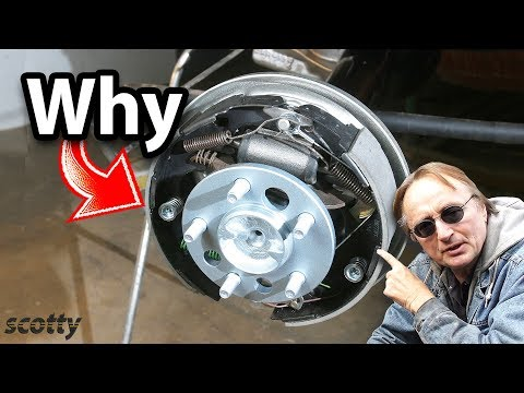 Why Some Cars Have Drum Brakes Instead Of Disc Brakes