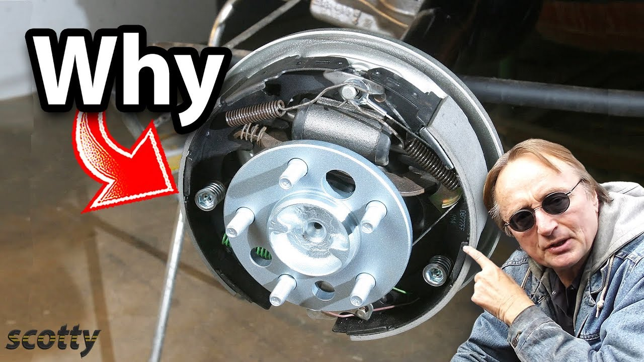 Drum Brakes Vs Disc Brakes >> Why Some Cars Have Drum Brakes Instead of Disc Brakes - YouTube