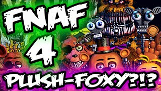 FNAF 4 TEASER *NEW || Plush-Foxy Endoskeleton? || Five Nights at Freddy's 4 Teaser