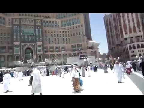 INSIDE THE HOLY MUSJID IN MAKAH LIVE