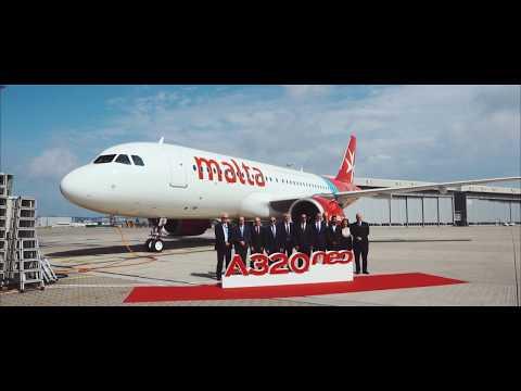 Air Maltas newest A320 NEO to its fleet