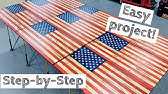 Most In-Depth Wood American Flag BuildMake Money Woodworking!How to