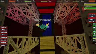 Roblox Ninja Warrior Semi Perfect Run