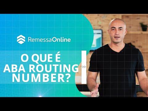 O Que é ABA Routing Number