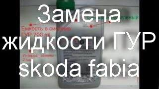 видео Ремонт и техническое обслуживание Шкода Фабия (Fabia).
