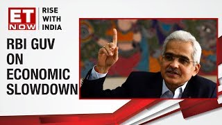 RBI Governor Shaktikanta Das speaks on slowdown in economy at FIBAC meet 2019
