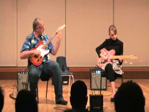 Papa Ken and CC Rose MacPhail Guitar Recital