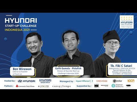 BE AN IMPACTFUL START-UP. Road to Hyundai Startup Challenge 2021 at ICCN Simpul Space
