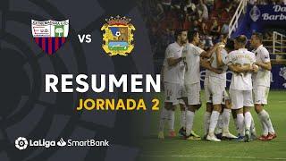Resumen de Extremadura UD vs CF Fuenlabrada (1-2)
