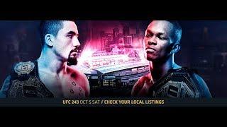 ММА-подкаст №315  - Прогноз на один бой UFC 243: Whittaker vs. Adesanya